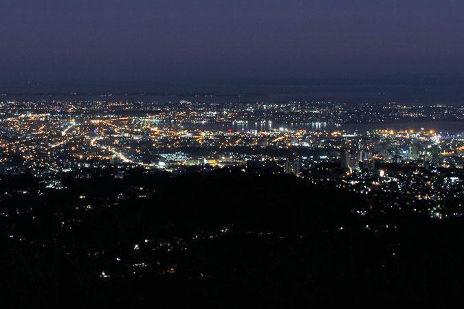 トップスからの夜景